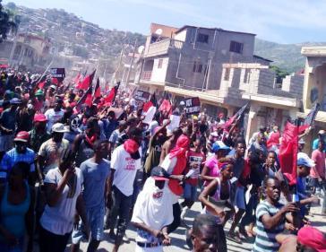 Die Proteste in Haiti gegen die Regierung von Präsident Moïse halten auch nach dem erneuten Rücktritt eines Premierministers weiter an