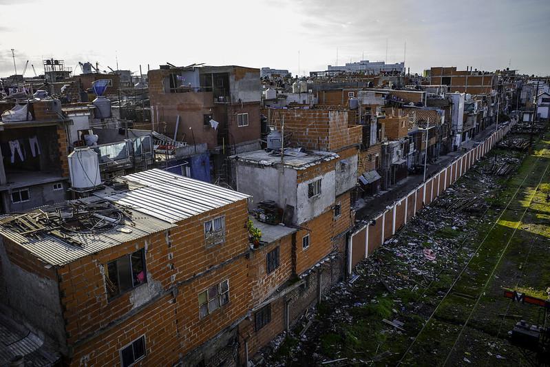 In den Villas in Buenos Aires nimmt die Armut in Folge der Corona-Pandemie stark zu