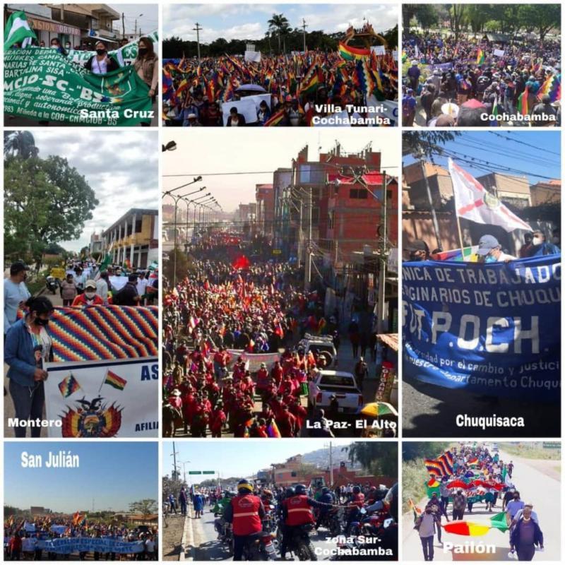 Im ganzen Land gingen die Menschen auf die Straße, um gegen die erneute Verschiebung der Wahlen zu protestieren