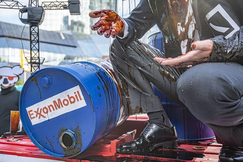Bei den Protesten ging es auch um Geldgeschäfte mit Exxon und Ölförderung vor Guyana