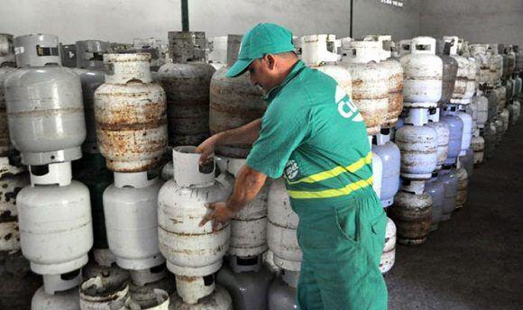 In Kuba wird vor allem mit Gas gekocht