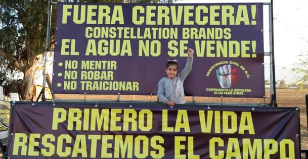 """""""Das Wasser steht nicht zum Verkauf"""": Erfolgreicher Widerstand in Mexicali gegen den Bau einer Großbrauerei"""