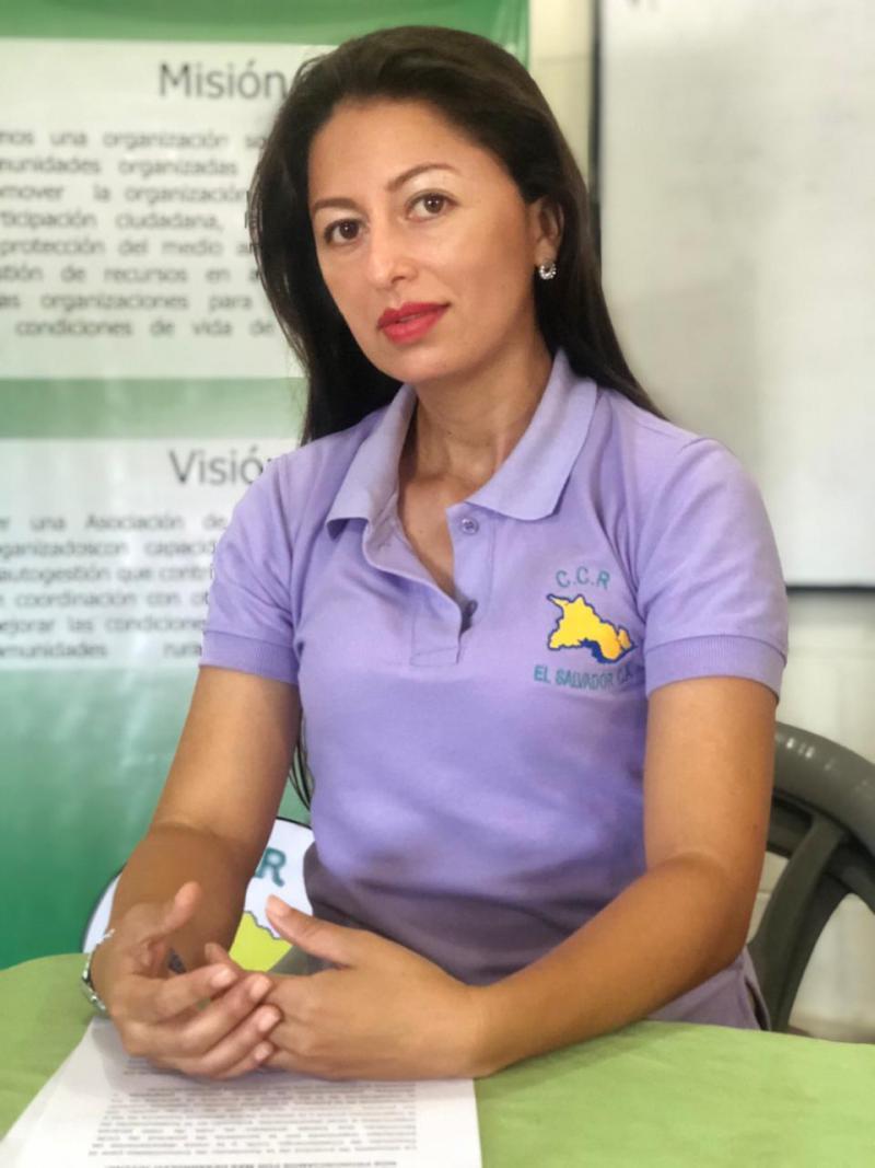 Rosa López von der CCR