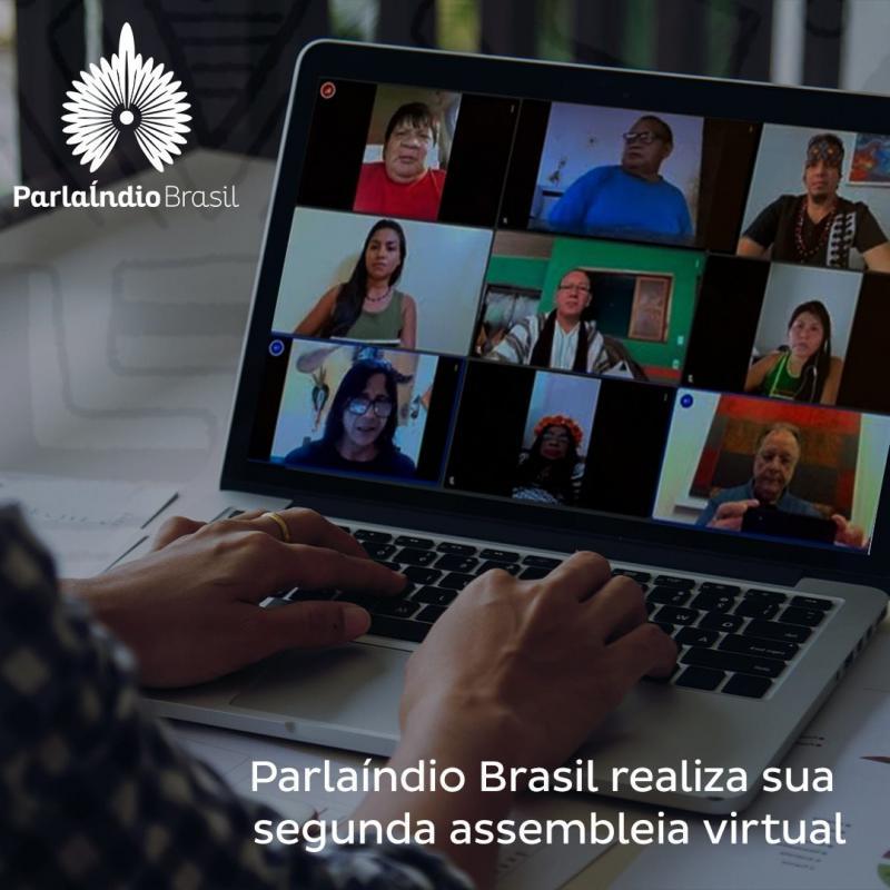 Sitzungen des Indigenen-Parlaments in Brasilien auch virtuell