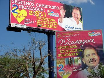 Werbung erfolgreich: Daniel Ortega bleibt Präsident in Nicaragua