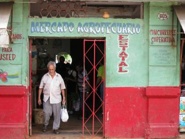 Agrarmarkt in Kuba