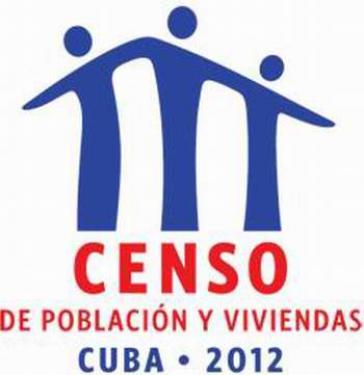Logo des Zensus 2012 in Kuba