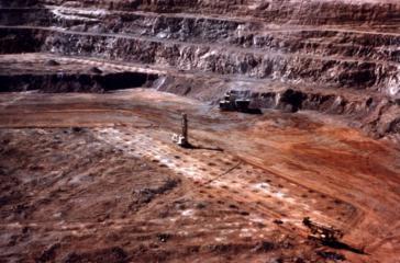 Goldtagebau in Mexiko