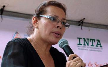 INTA-Direktorin María Martínez