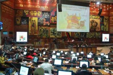 Mit 108 Ja- und 25 Nein-Stimmen hat das Parlament Ecuadors der Ölförderung im Yasuní-Nationalpark zugestimmt