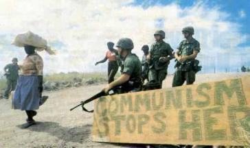 """US-Marines nach der Invasion in Grenada: """"Hier endet der Kommunismus"""""""