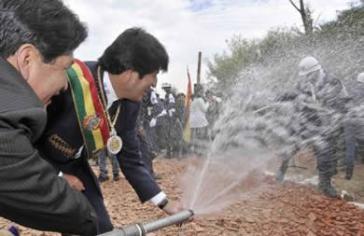Die OAS hat Bolivien für nachhaltige Trinkwasser- und Sanitärpolitik ausgezeichnet