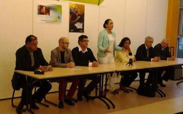 Ecuadorianisches Treffen in Genf