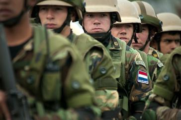 Auch Marinesoldaten werden eingesetzt