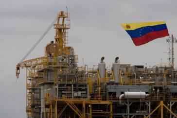 Einweihung einer neuen Produktionsanlage des Ölkonzerns PdVSA