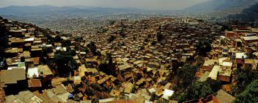 Ein kleiner Ausschnitt von Petare, dem größten Armenviertel von Caracas