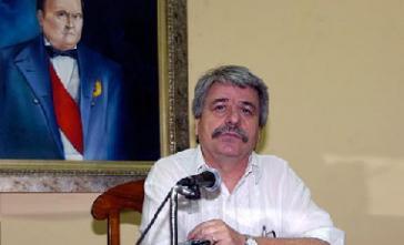 Ricardo Canese, Kandidat für das Parlament und Generalsekretär der Frente Guasú, im Juli 2012