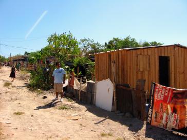 Armenviertel in San Salvador