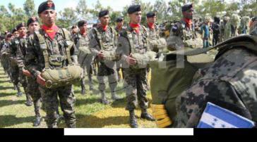Militärpolizei in Honduras