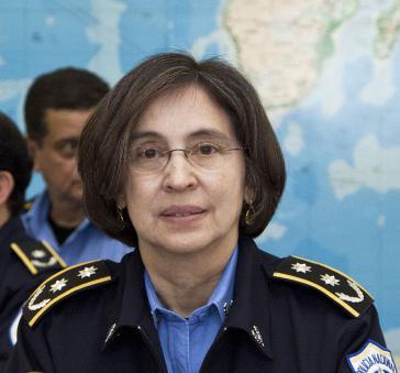 Nicaraguas Polizeichefin Aminta Granera