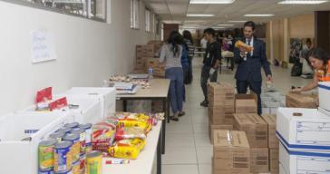 20 Tonnen Gebrauchsgüter für die notleidende Bevölkerung von Gaza
