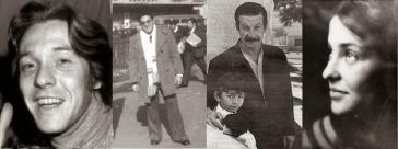 """Vier der 23 italienischen Staatsbürger, die Opfer der """"Operation Condor"""" wurden: Juan Pablo Recagno, Armando Bernardo Arnone, Gerardo Francisco Gatti und María Emilia Islas (von links nach rechts)"""