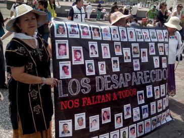 """Weit mehr als 20.000 Menschen sind in Mexiko seit 2006 """"verschwunden"""""""