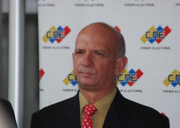 Von Venezuela seit Januar ernannter Konsul in Aruba, Hugo Armando Carvajal Barrios