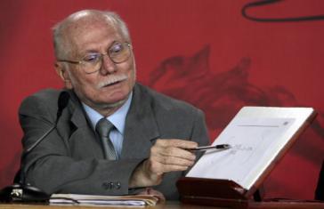 Seine Kritik an der Regierung Maduro löste eine lebhafte Debatte in Venzuela aus: Ex-Planungsminister Jorge Giordani