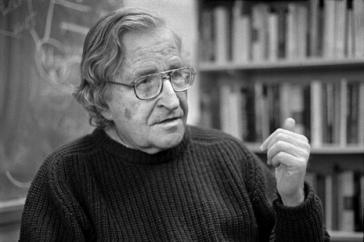 Autor und Professor für Linguistik: Noam Chomsky