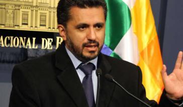 Boliviens Botschafter bei den Vereinten Nationen, Sacha Llorent