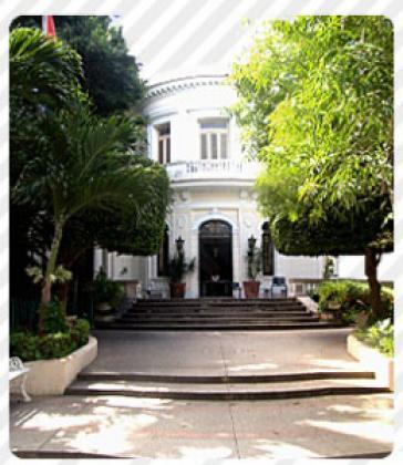 Sitz des Schriftsteller- und Künstlerverbandes UNEAC in Havanna