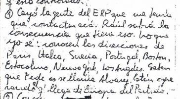 Ausschnitt des Dokuments, das der Autorin zur Verfügung stand.
