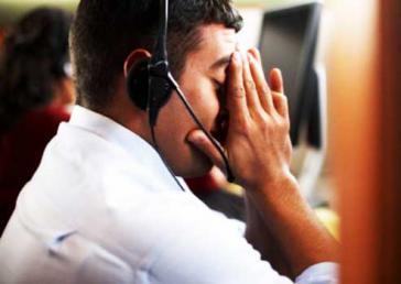 Mitarbeiter eines Call-Centers