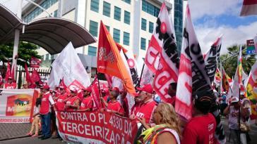 Demonstration am 29. Mai in Fortaleza ...