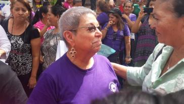 Gladys Lanza, Koordinatorin der Las Chonas