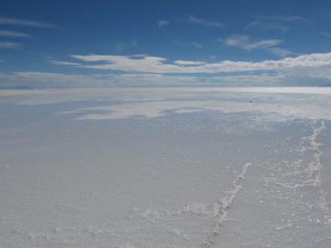 Unter dem Salzsee werden Lithiumvorkommen von 4,5 Tonnen vermutet