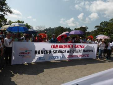 Protest gegen Bergbauprojekt in Nicaragua