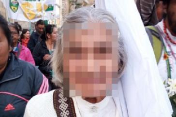 Alicia Garzón*, 78, Mitgründerin des Viertels Policarpa Salavarrieta in Bogotá