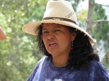 Von Unbekannten erschossen: Berta Cáceres