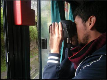 Jheysson Salas, 25, Student und Aktivist der Friedensbewegung