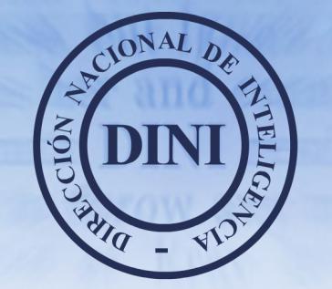 """Logo des peruanischen Geheimdienstes """"Direccíon Nacional de Inteligencia"""""""