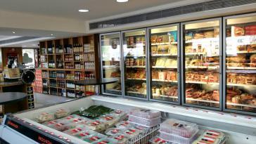 In den Supermärkten der Reichen-Viertel in Caracas