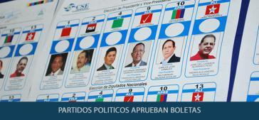 Die Wahlscheine für die Präsidentschaftswahl sind bereits gedruckt