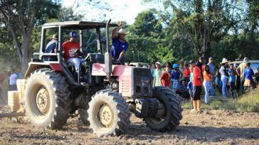 Negro Miguel-Kommunarden besetzen das verlassene Landgut  eines ehemaligen Bürgermeisters und chavistischen Militärs