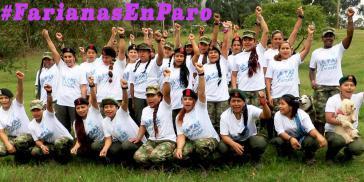 Frauen der Farc-EP in Kolumbien
