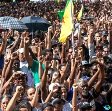 Massive Demonstrationen wegen der prekären Situation der Sozialsysteme in Französisch-Guyana