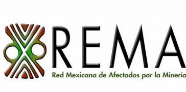 Logo des Mexikanischen Netzwerkes der von Bergbau Betroffenen (Rema)