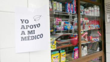 """""""Ich unterstütze meinen Arzt"""": Der Ärztestreik in Bolivien dauert an"""