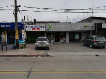 Die Pitágoras-Apotheke in Malvín Norte, einem Stadtteil im Nordosten von Montevideo